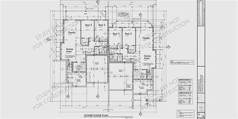 set design floor plan free sle study set