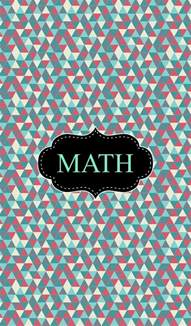 Math Binder Cover Templates by 1000 Images About Binder Covers On
