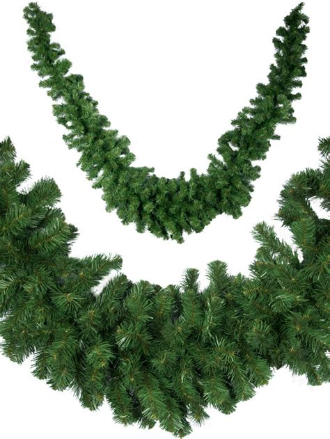 thick balsam pine swag garland 3m garlands wreaths tinsel the christmas warehouse