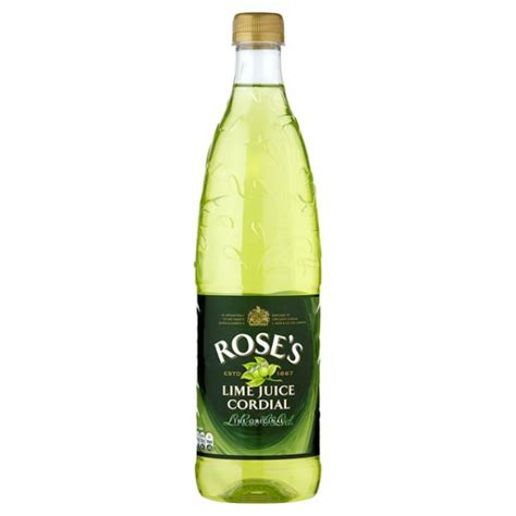 buy rose s lime juice cordial online from flowers and more