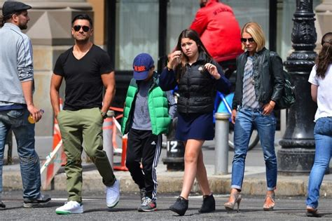 photos of kelly ripa family 2014 kelly ripa and mark consuelos out in nyc with their kids