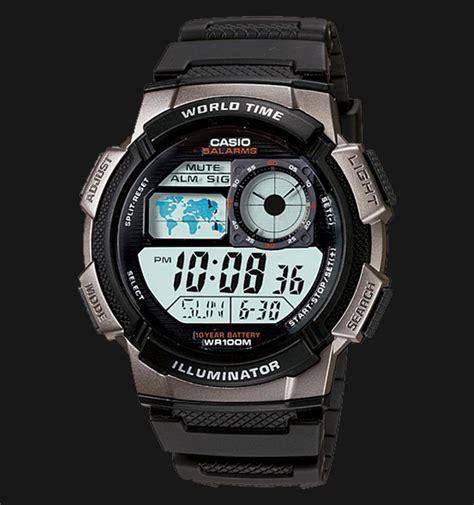 Casio Ae 1000w 1bvdf casio ae 1000w 1bvdf 10 year battery water resistance