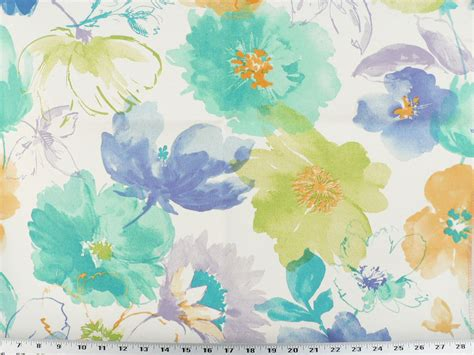 watercolor upholstery fabric drapery upholstery fabric indoor outdoor watercolor floral