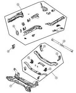 Parts For 2007 Dodge Caliber 2007 Dodge Caliber Frame Front