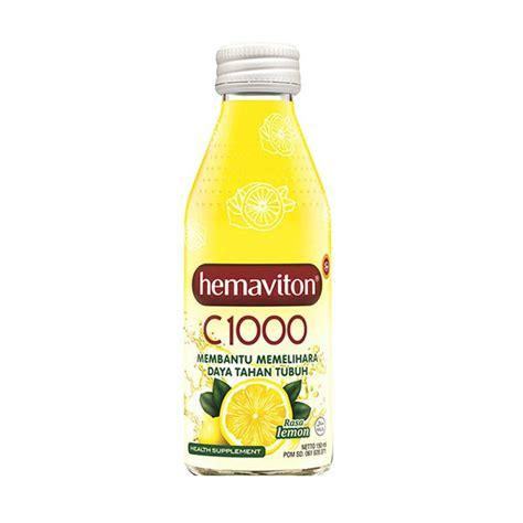 jual hemaviton c1000 lemon liquid minuman kesehatan 150