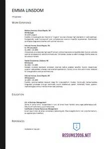 Resume Header Format by Resume Format 2017 20 Free Word Templates
