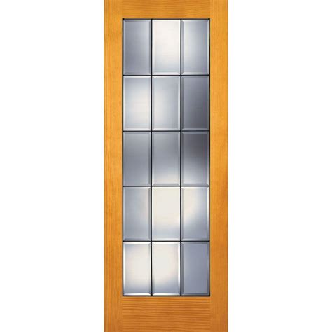 home depot interior french door builder s choice 30 in x 80 in 30 in clear pine wood 15