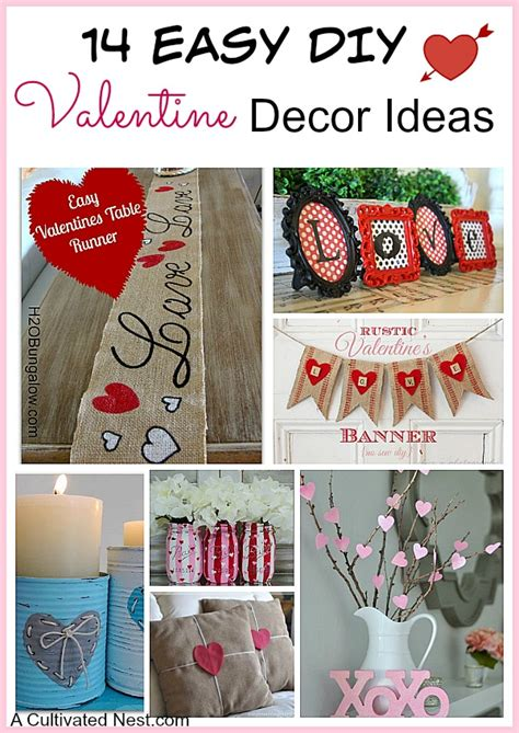 14 easy diy s day decoration ideas