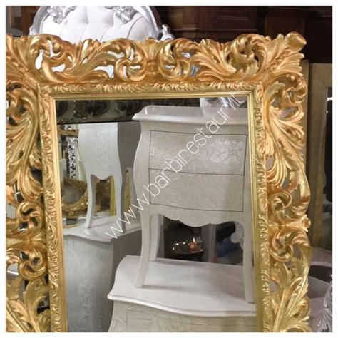 cornice foglia oro cornice specchio stile barocco in legno a como kijiji