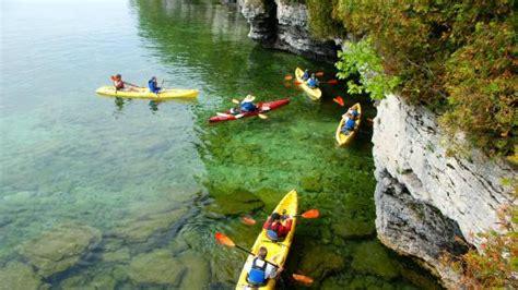 Door County Kayak Tours by Andrew Wilson And Krista Degraff S Wedding Website