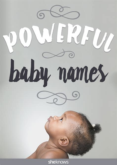 strong names powerful baby names for with bright futures