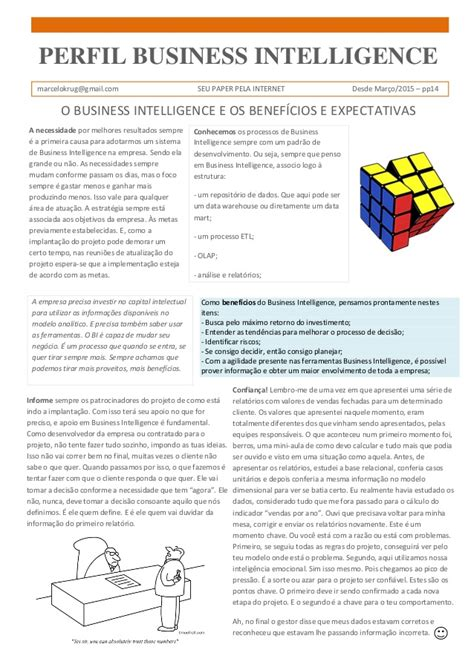 business intelligence research paper a14 paper perfil business intelligence business