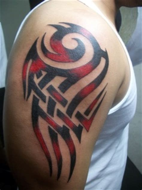 tribal tattoos with color shading 19 unique colorful tribal tattoos only tribal
