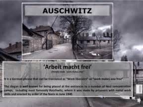 Powerpoint auschwitz concentration camp
