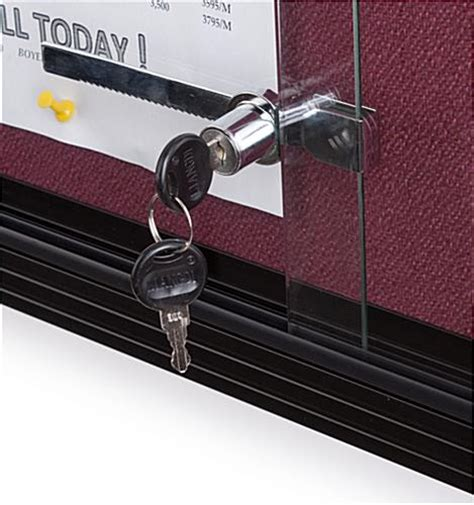 Sliding Glass Door Locking Mechanism This Sliding Door Fabric Board Is An Effective Way To Keep Everyone S Up To Date Each Unit Has