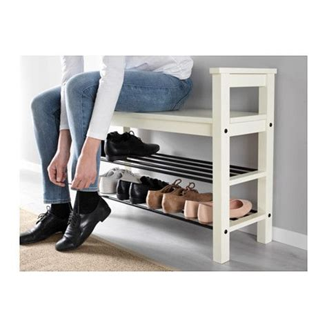 Banc Rangement Chaussures Ikea by Hemnes Banc Avec Rangement Chaussures Blanc Mourlin