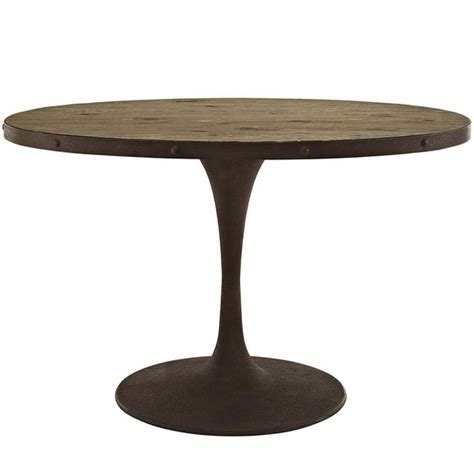 Oval Wood Dining Tables Drive 47 Quot Oval Wood Top Dining Table Modern In Designs