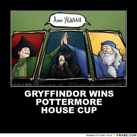 Harry Potter House Meme - harry potter house cup memes