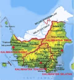 Batik Peta Indonesia peta batik kalimantan