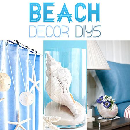 beach decor beach decor diy projects the cottage market