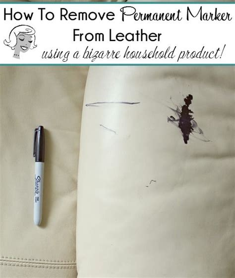 How To Remove Pen Stains From by How To Remove Permanent Marker From Leather Furniture