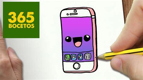 imagenes kawaii para celular como dibujar iphone 6s kawaii paso a paso dibujos kawaii