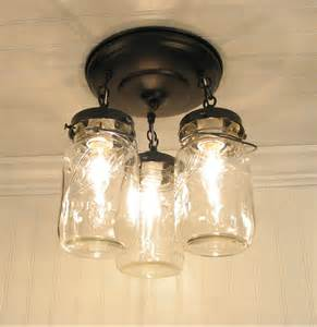 jar lighting fixtures jar light fixture trio of vintage quarts by lgoods