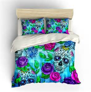 Duvet For Twin Bed Skull Bedding Sugar Skulls Duvet Cover Comforter By