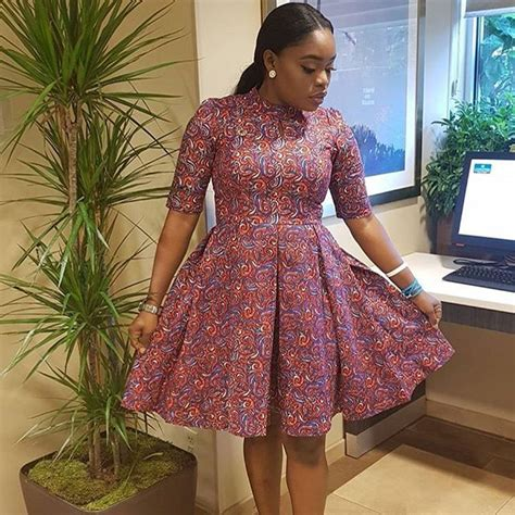 short gowns ankara for fat ladies ankara short gown designs cute flare gowns for ladies
