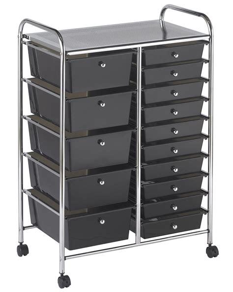 ecr4kids 15 drawer mobile organizer smoke ebay