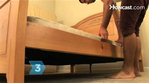 how to fix a bed frame how to stop a box spring from squeaking youtube