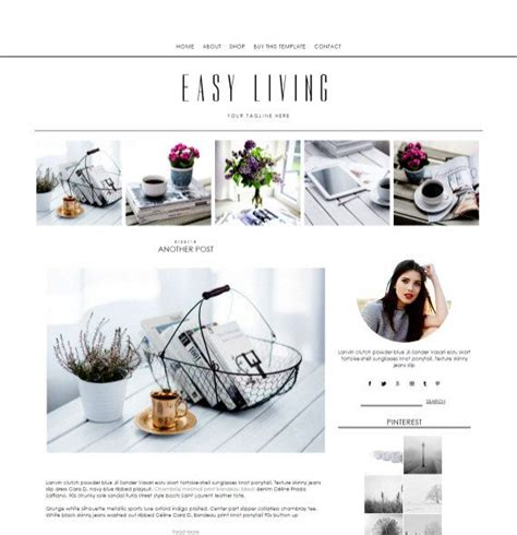 blogger templates for sale sale responsive blogger template easy living by cwebsbiz