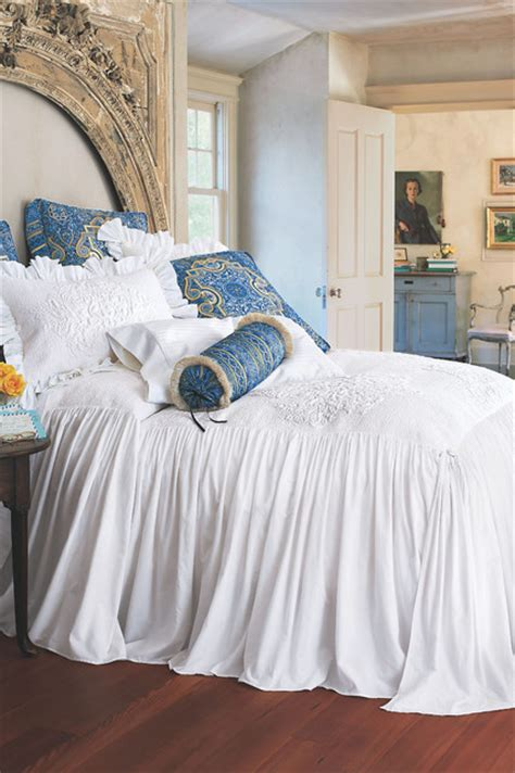 skirted coverlet santorini skirted coverlet mediterranean duvet covers