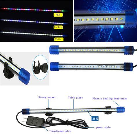 waterproof led lights for fish tanks blue white rgb led aquarium l fish tank led bar