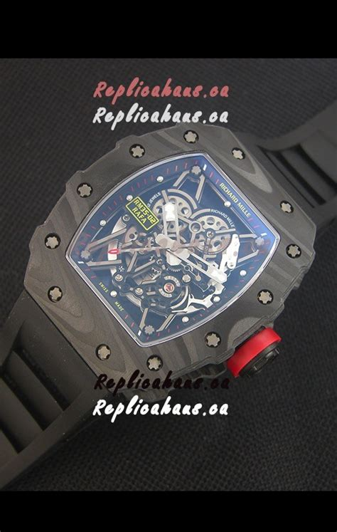 richard mille rm035 2 rafael nadal forged carbon with crown