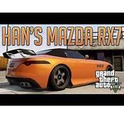 Hans Tokyo Drift RX7 Benefactor Surano  GTA V Custom