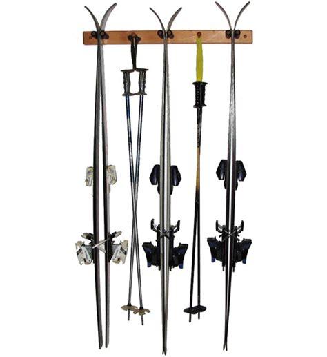 Wooden Ski Rack wooden ski rack vertical pine in sports equipment organizers