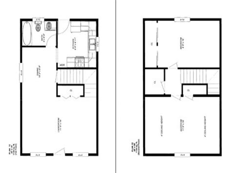 28 X 24 Cabin Floor Plans 30 X 40 Cabins 16 X 16 Cabin 12 X 30 House Plans