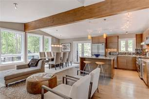 kitchen family room open floor plan open floor plans a trend for modern living