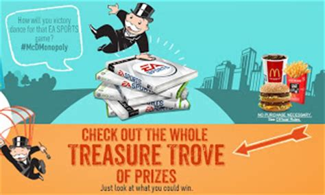 Mcdonalds Instant Win Prizes - mcdonald s monopoly instant win game over 300 million prizes heavenly steals