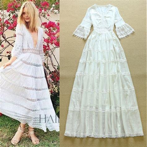 vestiti estivi a fiori i vestiti lunghi estivi bianchi ed in pizzo