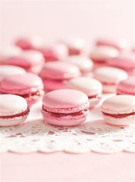Treats V2 Strawberry Macaroon pink wedding pink strawberry macaroons 2069639