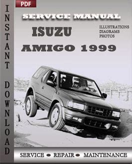 service repair manual free download 1998 isuzu amigo parking system isuzu amigo 1999 repair manual pdf online servicerepairmanualdownload com