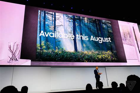 samsung wall tv samsung s 146 inch modular the wall tv will be available this august the verge