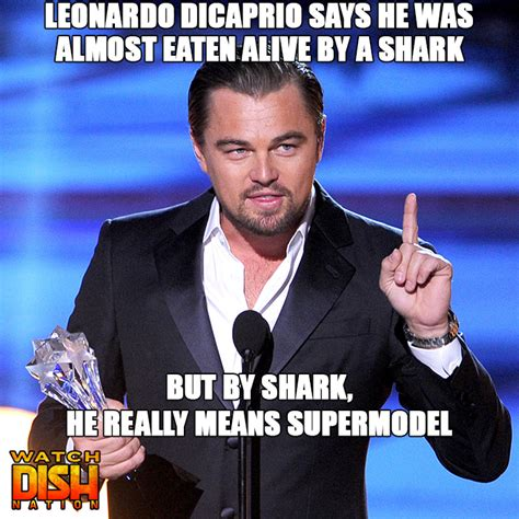 Leo Meme - leonardo dicaprio has 9 lives dish nation entertaining