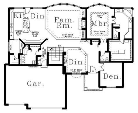 custom ranch floor plans ranch style ranch floorplans custom ranch plan ranch