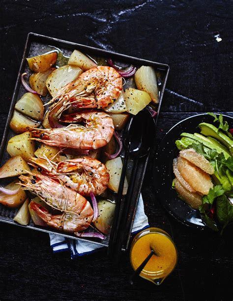 cuisine gambas gambas sauce orange carotte betteraves au four pour 4