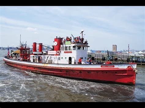 setting sail on fireboat john j harvey youtube - Fireboat John J Harvey Youtube