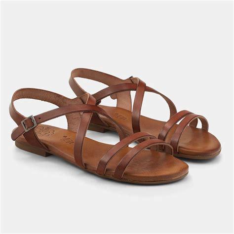 imagenes de sandalias jordan sandalias planas cuero con plantilla acolchada alicia