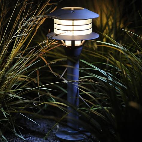 12 volt led garden spotlights glmeb007 rumex 12v led post lighting garden lights
